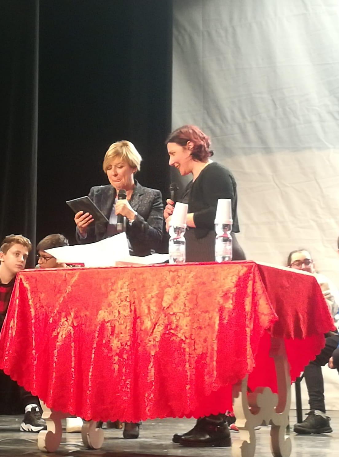 Fiammetta Borsellino a Genova per un progetto voluto dall'insegnante gratterese Crisanti