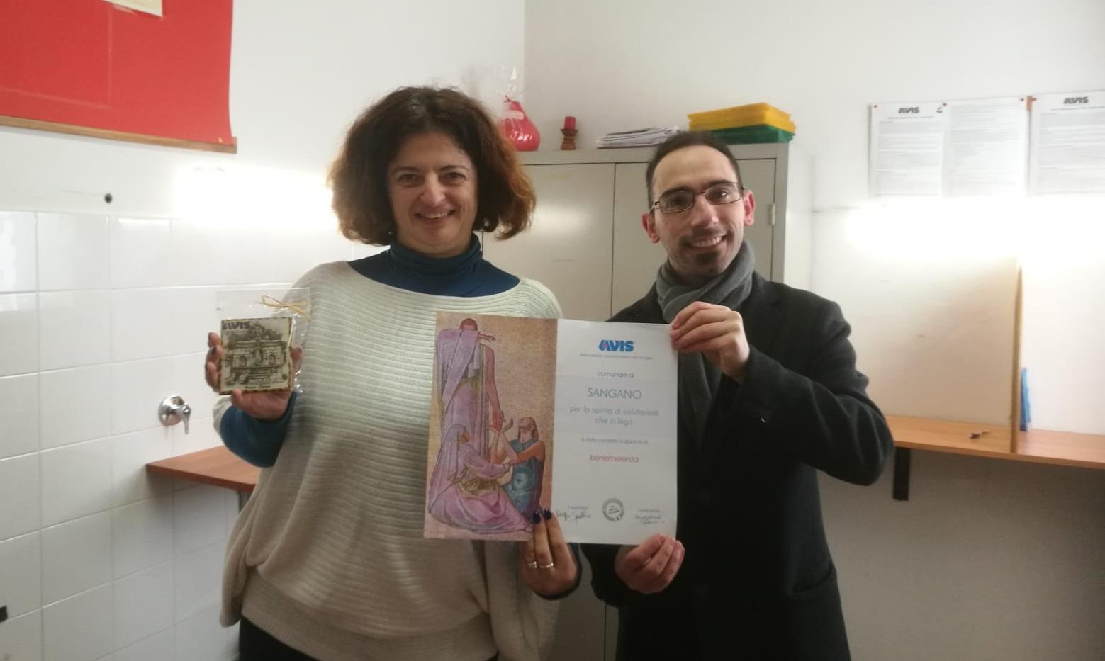 Nel segno della solidarietà: gemellaggio tra l'Avis di Castelbuono e di Sangano