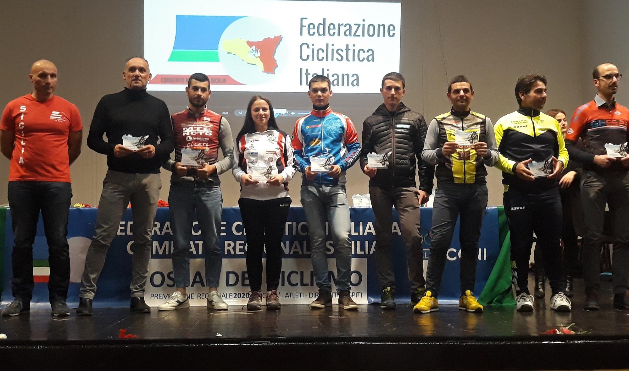 Oscar del ciclismo, trionfo della società gangitana Gsd Mtb