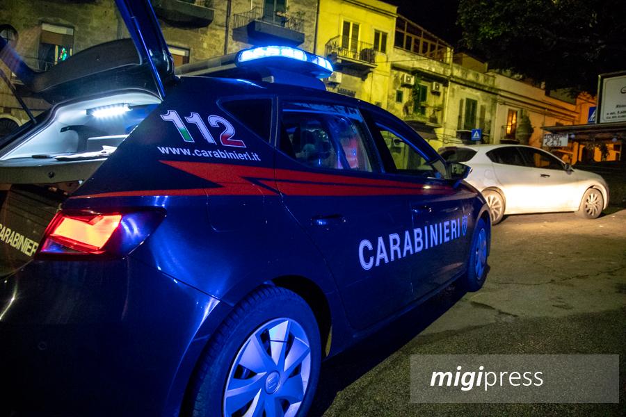 La nostra notte a bordo di una pattuglia dei carabinieri