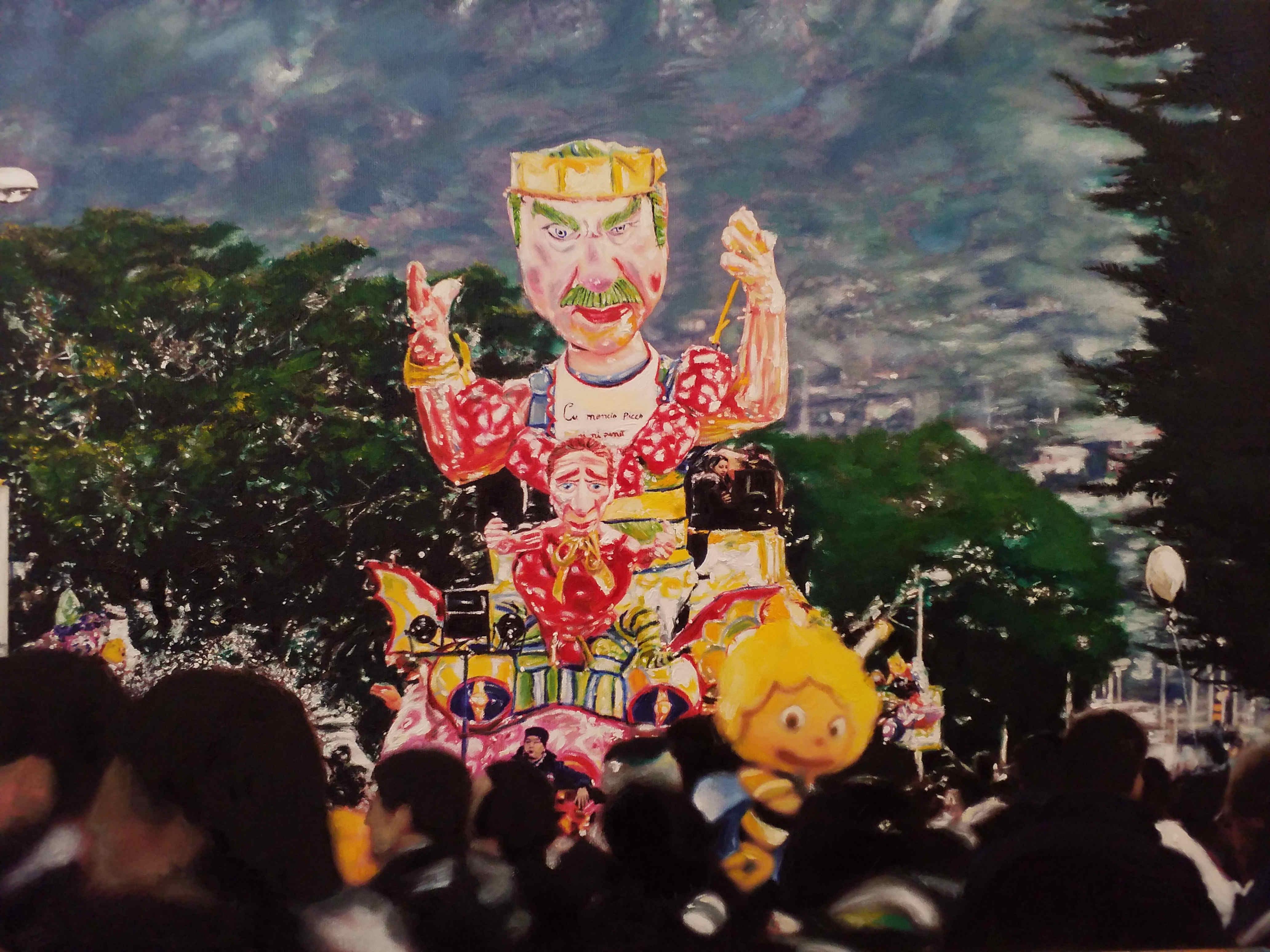 """""""Border colors"""", le opere di Tommaso Chiappa raccontano il carnevale"""