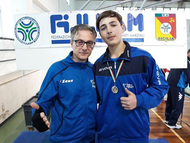 Karate, l'atleta madonita Dario Pedi ai campionati nazionali juniores