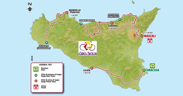 Ciclismo, torna il Giro di Sicilia: una tappa anche sulle Madonie