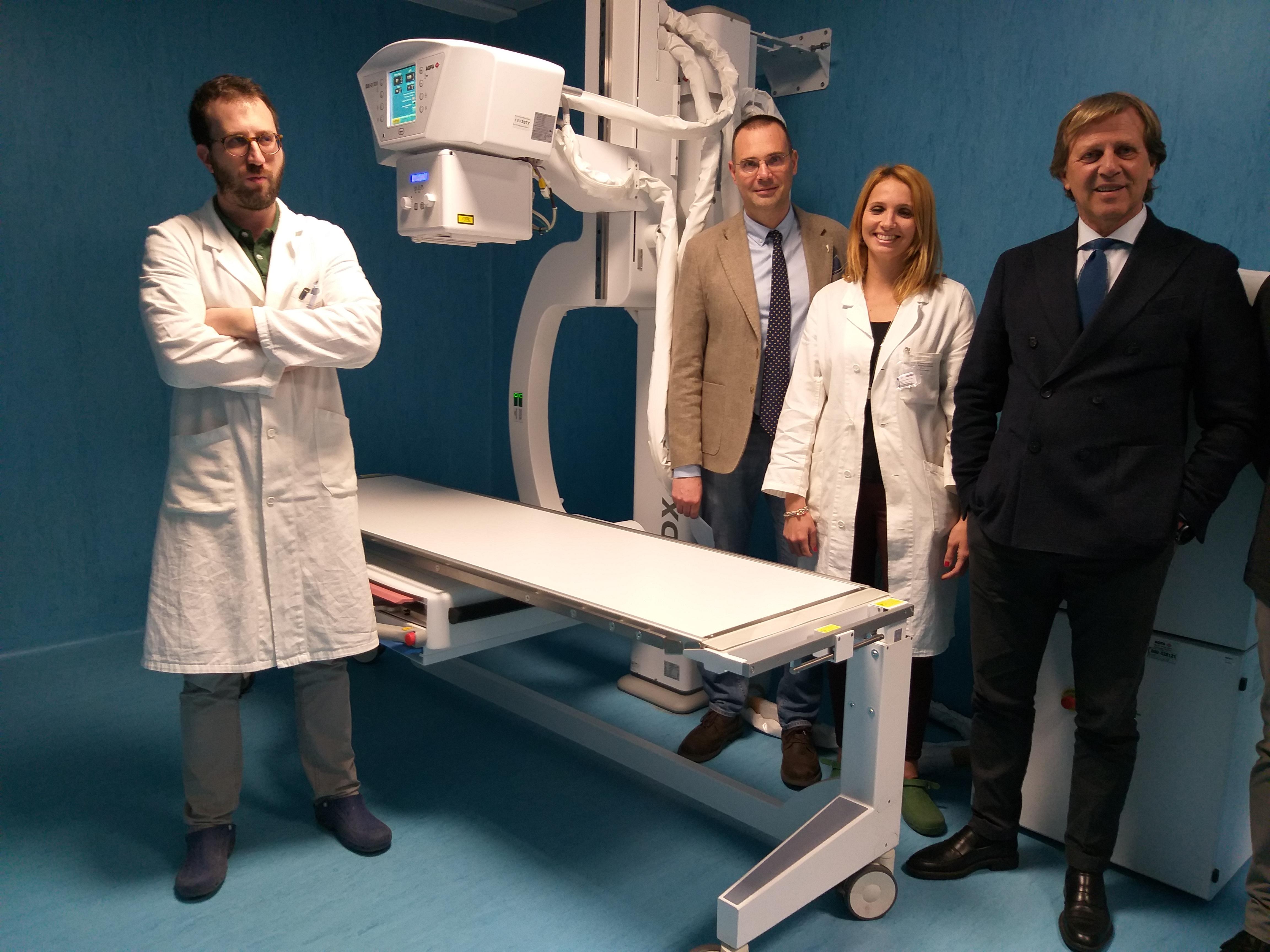 Pronto soccorso del Giglio, arriva una nuova macchina per le radiografie