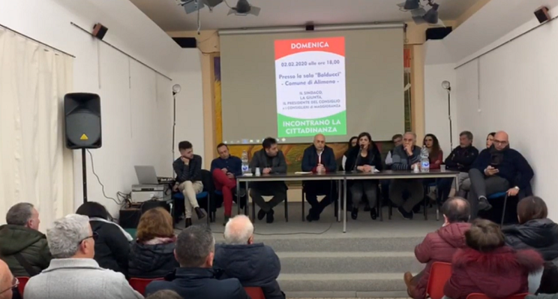 Crisi politica ad Alimena, assemblea cittadina infuocata