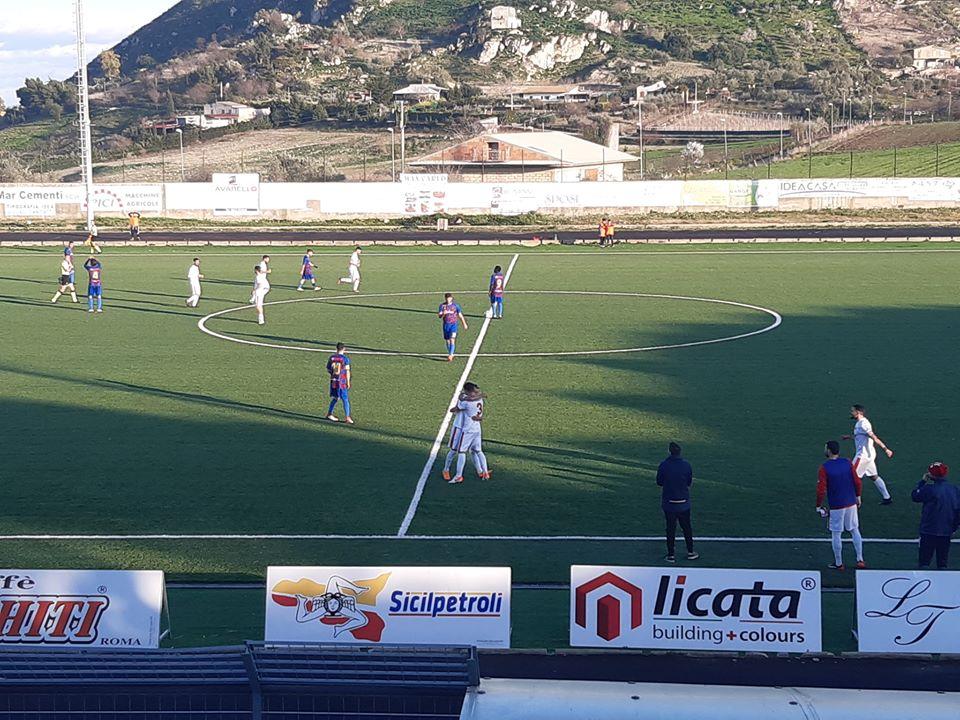 Due errori penalizzano il Geraci, sconfitta per 4-1 a Canicattì