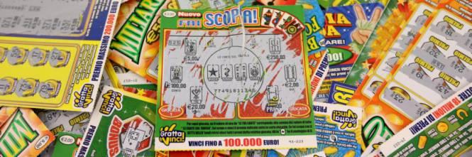 Lotterie, macchinette e gratta e vinci: i madoniti hanno speso 89 milioni di euro