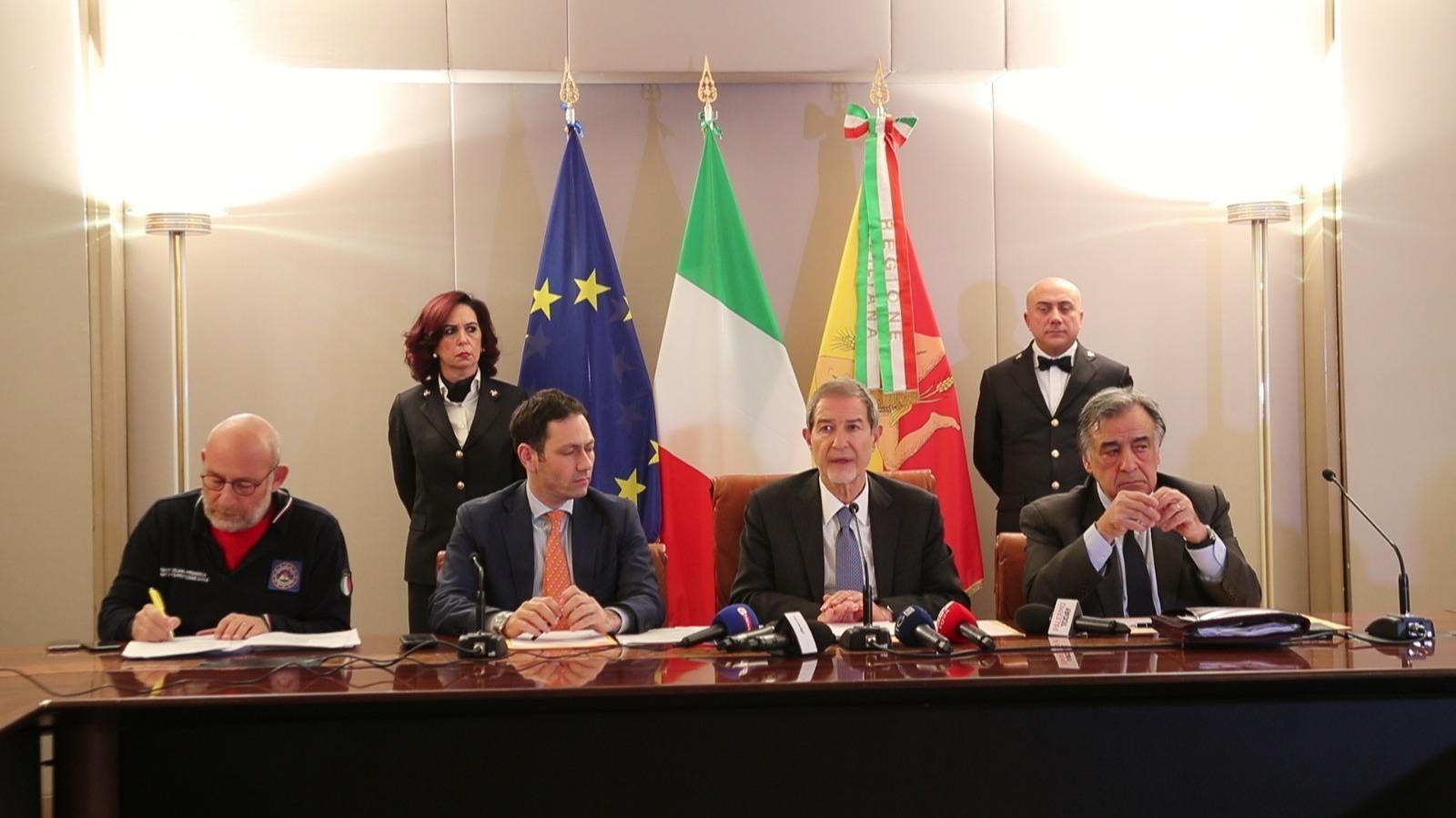 """Coronavirus, Musumeci: """"La Sicilia non è in emergenza"""""""