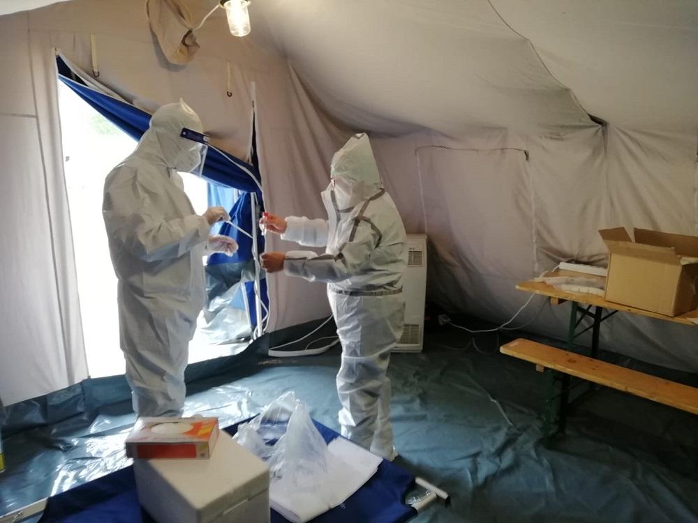 A Termini calano i malati di coronavirus: c'è un altro guarito