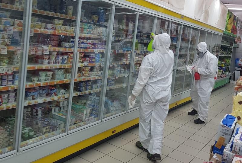 Sanificati gratis due supermercati, Giaconia ringrazia il Nois di Gangi