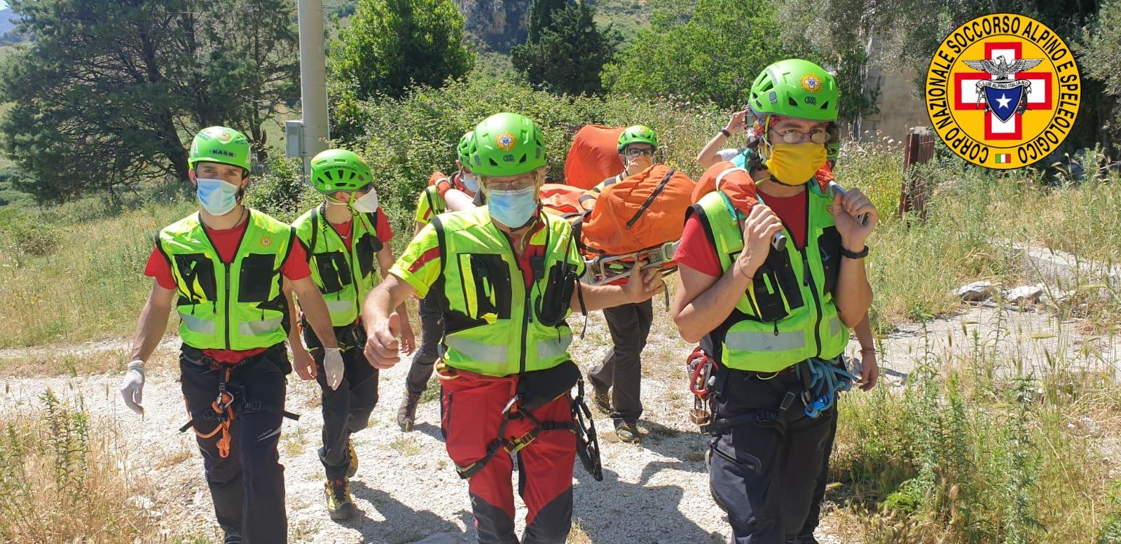 """Escursionisti dispersi e feriti: interventi del Soccorso Alpino """"Palermo Madonie"""""""