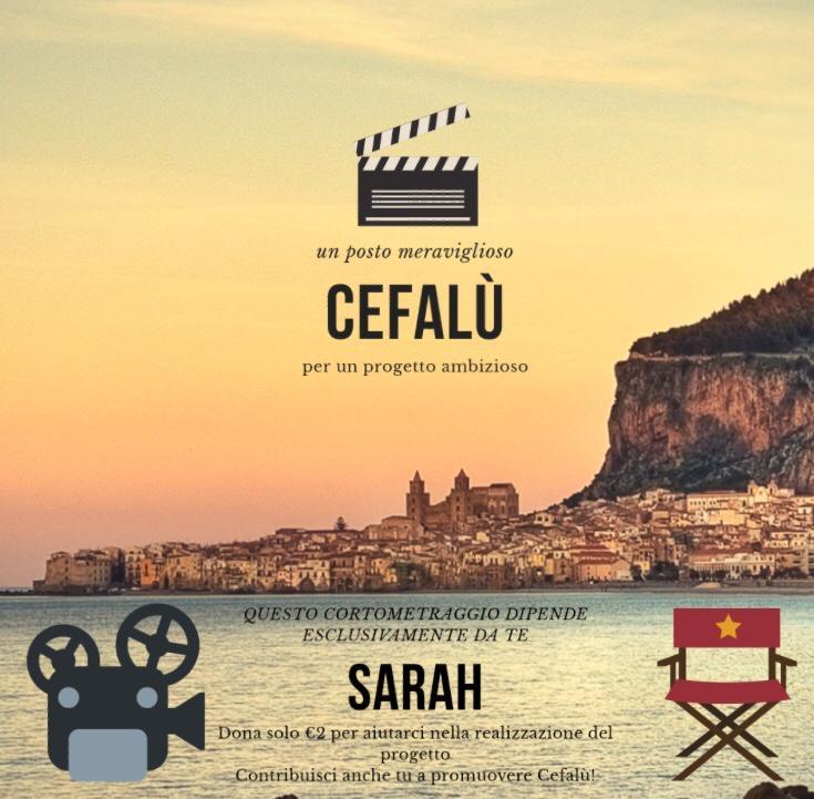 Cefalù diventa un set: ad agosto le riprese per il cortometraggio Sarah