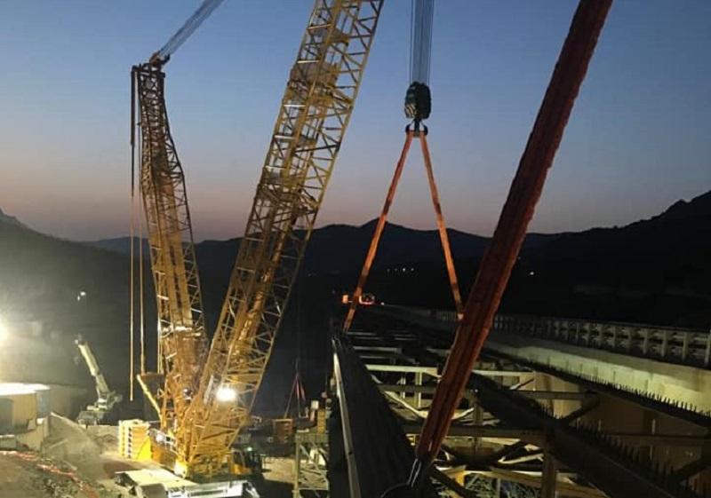 Viadotto Himera, completato l'impalcato: l'apertura è più vicina