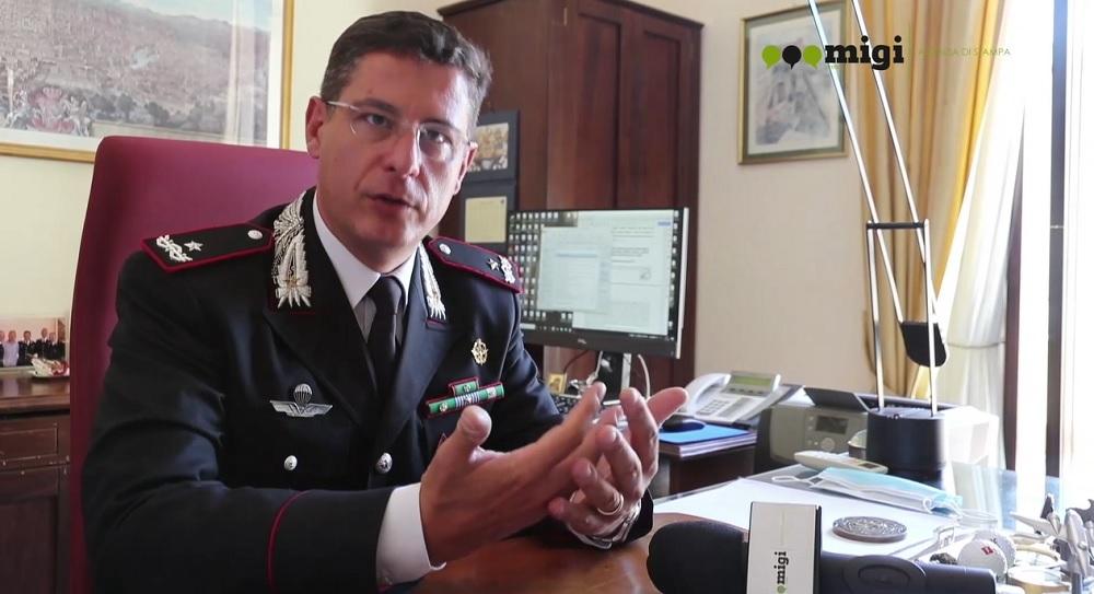 """Il comandante Guarino: """"I siciliani non guardano più la mafia con distacco"""""""