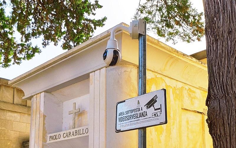 Castelbuono, ecco le nuove telecamere di video sorveglianza