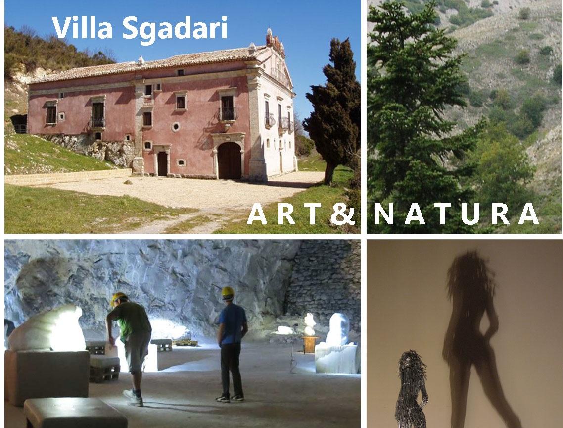 """""""Art & Natura"""", la mostra imperdibile a Villa Sgadari"""