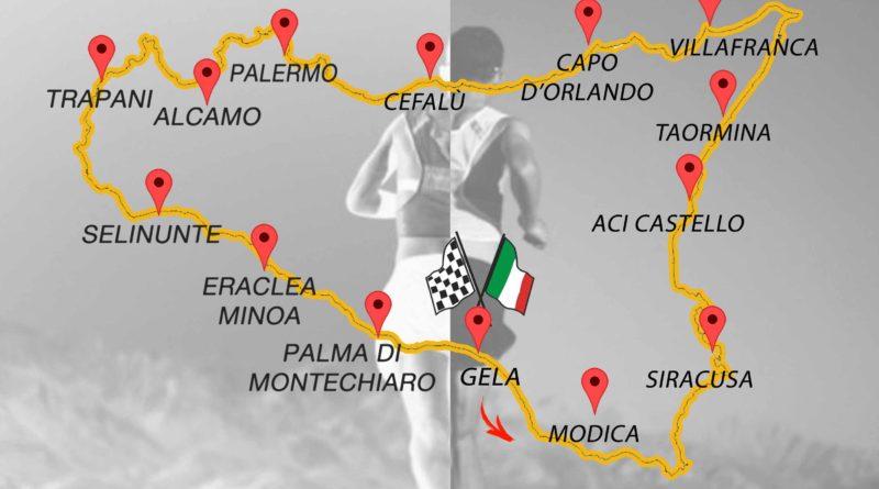 Sicily Ultra Tour, l'ottava tappa da Cefalù a Termini e Palermo