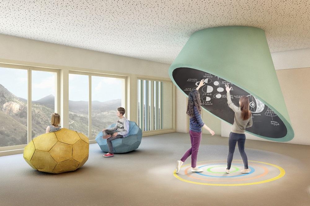 """Laboratorio astronomico, """"caverna"""" e orto: a Isnello la scuola del futuro"""