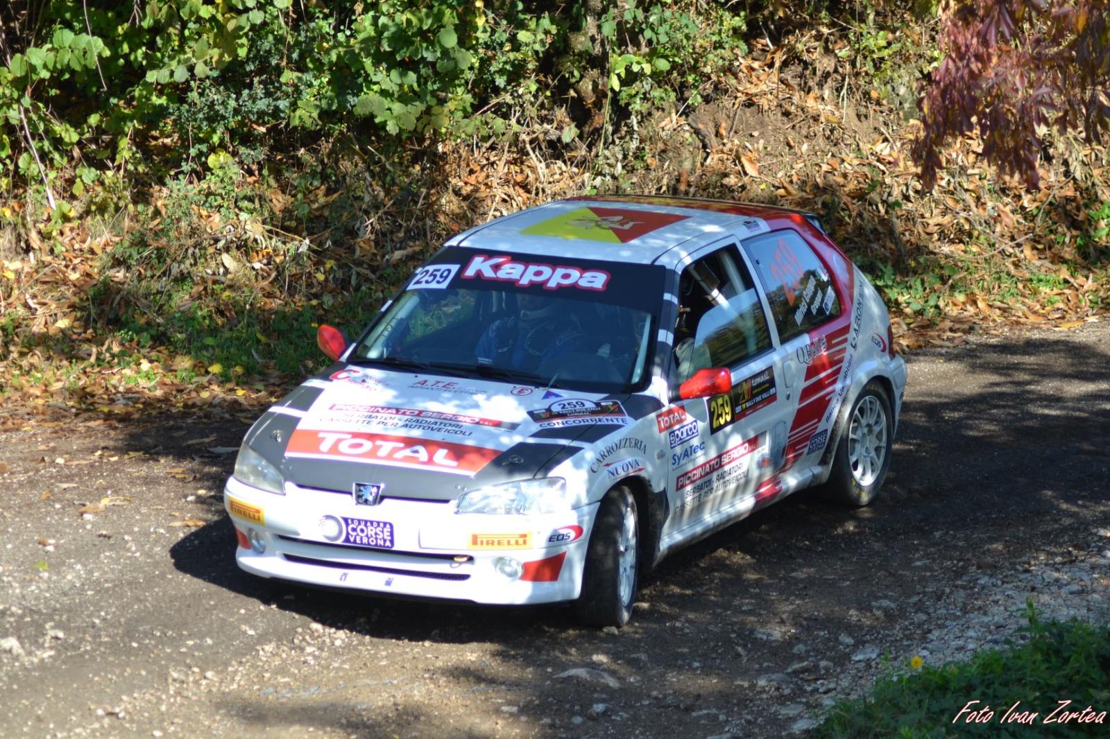 Il termitano Carlo Mirici Cappa vince il rally Due Valli nella classe N2
