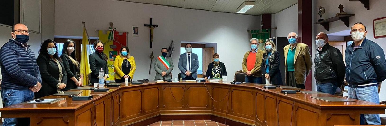 Prima riunione del consiglio comunale: Giuseppe Maccataio è presidente