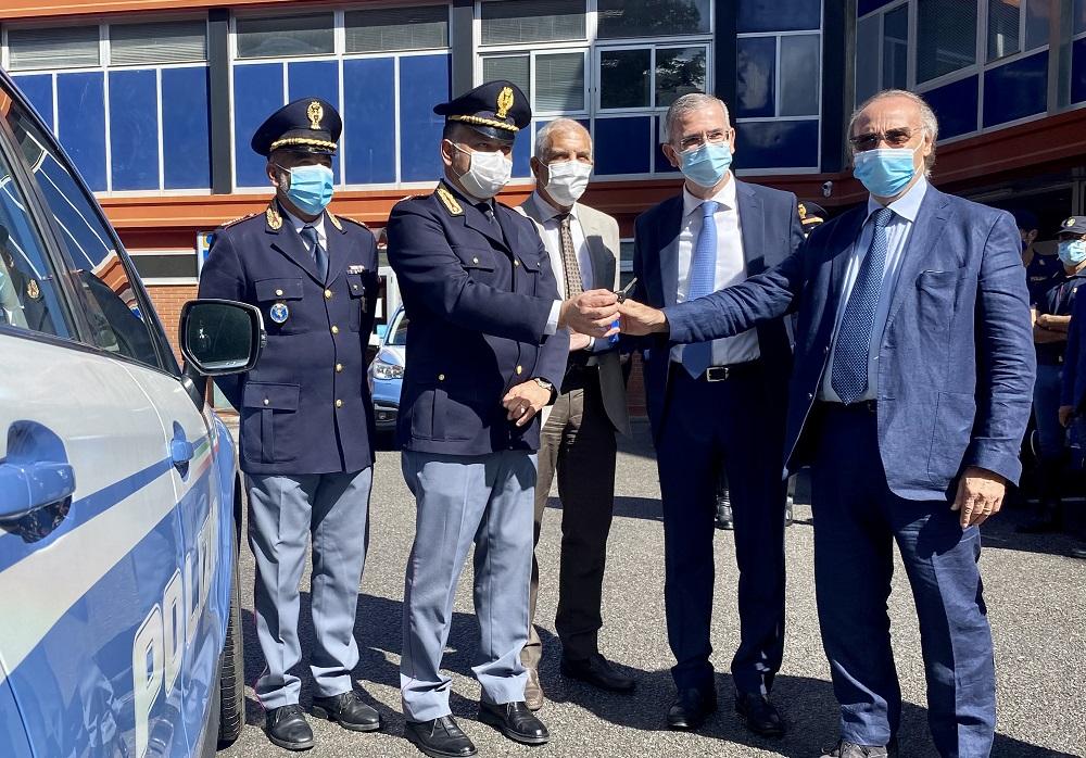 Autostrade Siciliane consegna 22 nuove auto alla Polizia Stradale
