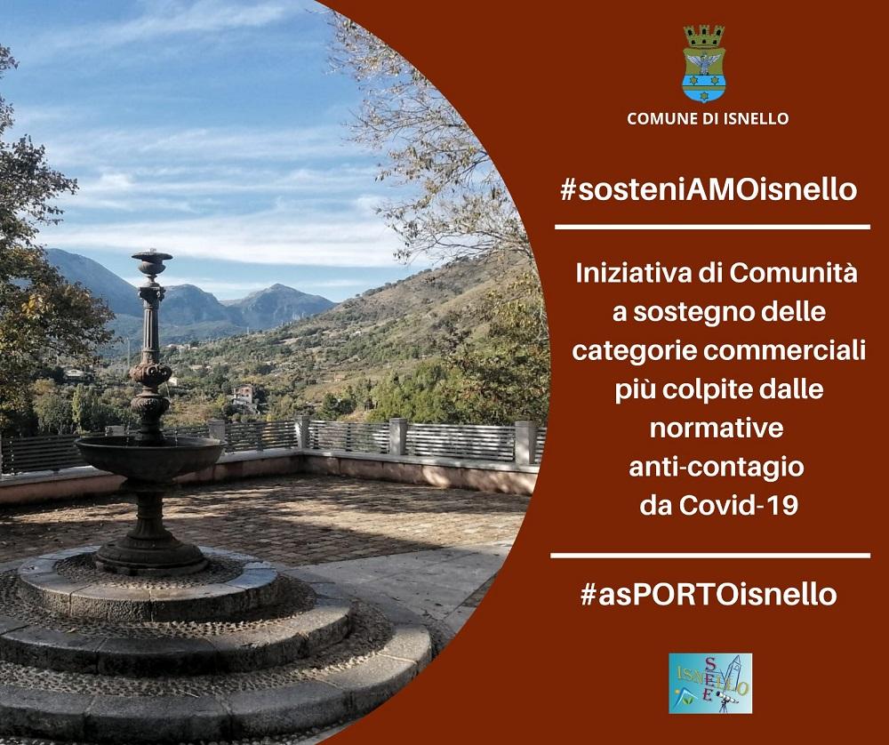 #sosteniAMOisnello, l'iniziativa per sostenere il commercio locale