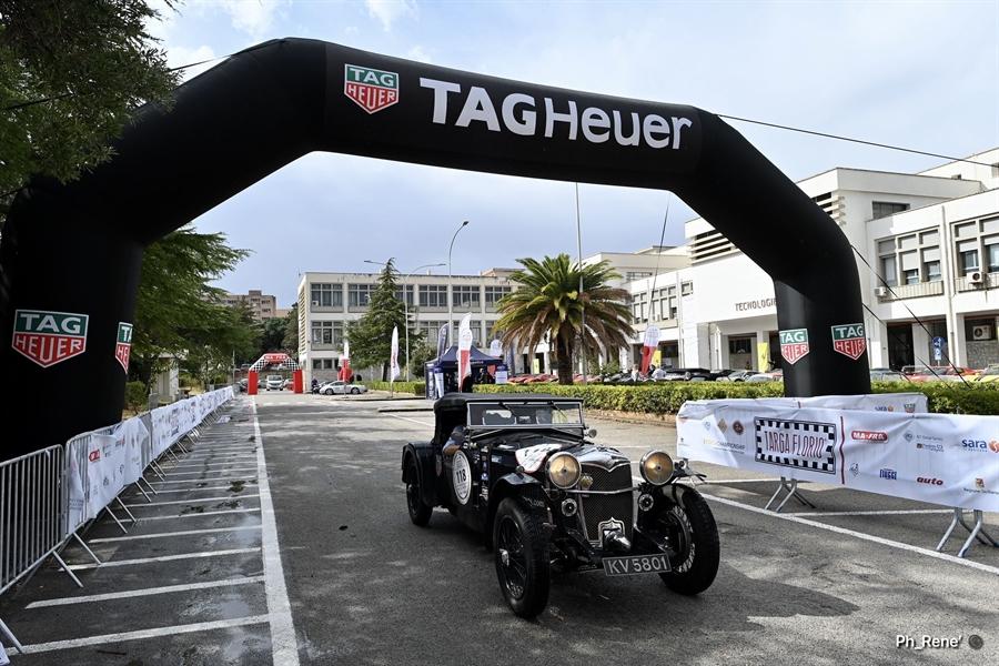Targa Florio Classica e Ferrari Tribute: giornata di verifiche