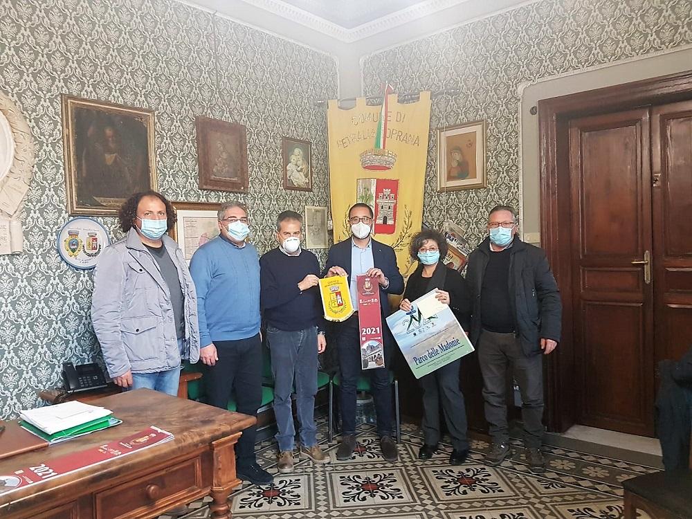 Parco, il presidente Angelo Merlino incontra la giunta di Petralia Soprana