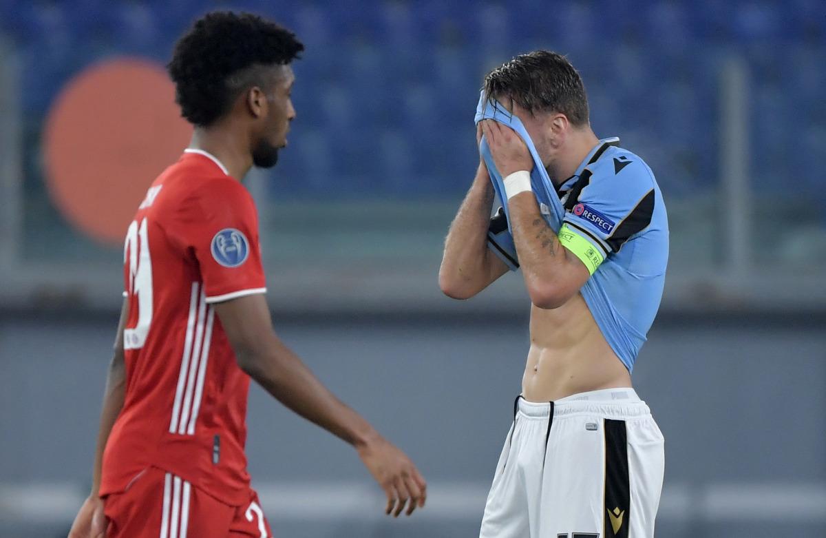 Il Bayern travolge la Lazio, i tedeschi vincono 4-1 all'Olimpico