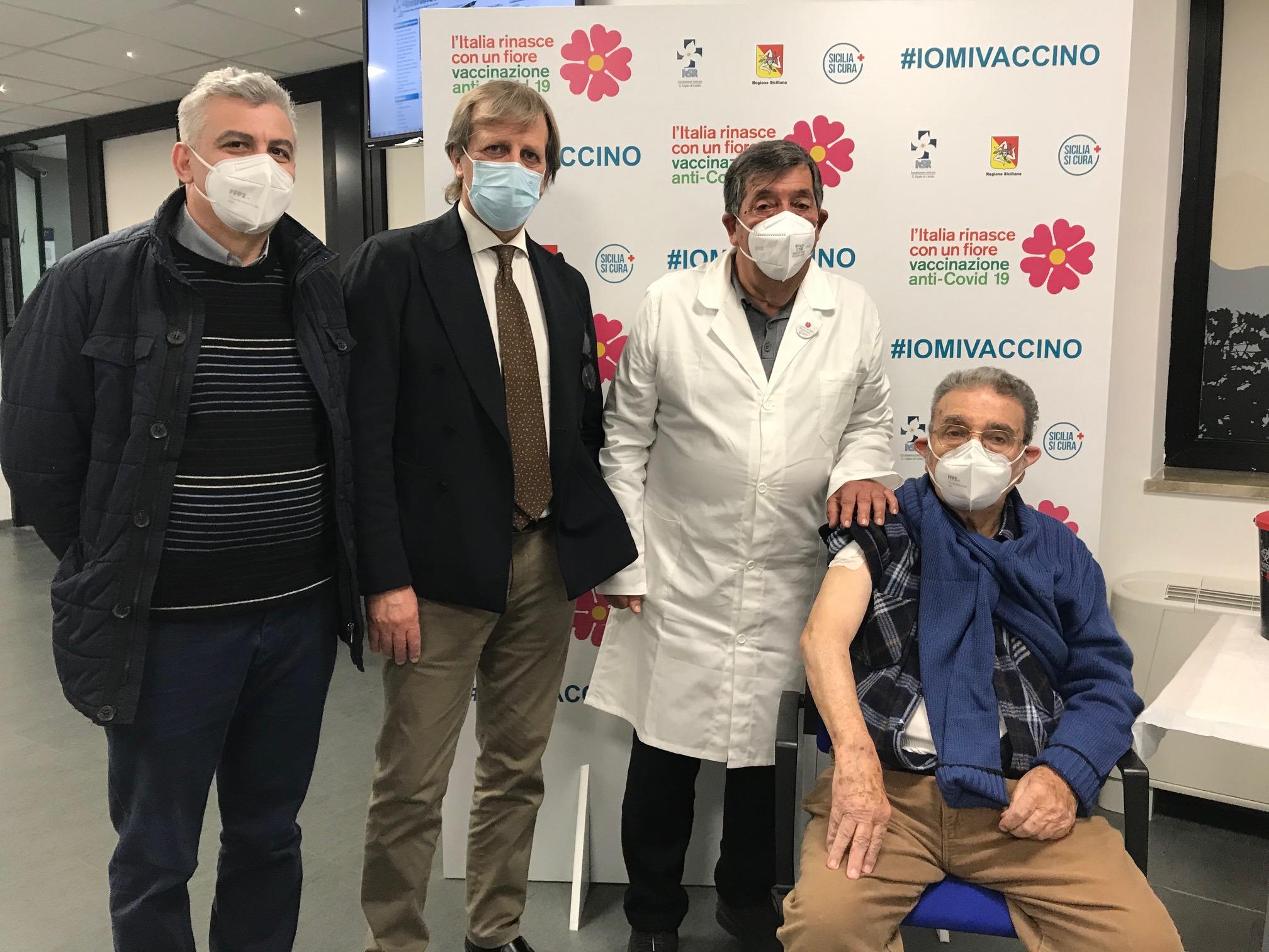Vaccino anti-Covid, al via campagna per over 80 al Giglio di Cefalù